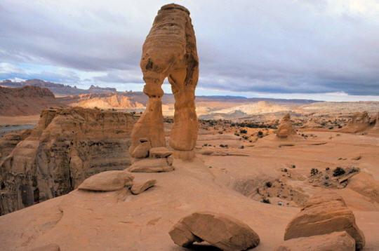 La Delicate Arche, Etats-Unis