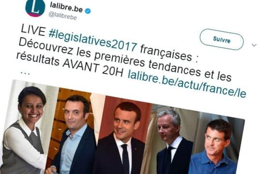 """RTBF, Libre Belgique, Le Soir: des résultats des législatives """"avant 20heures"""""""