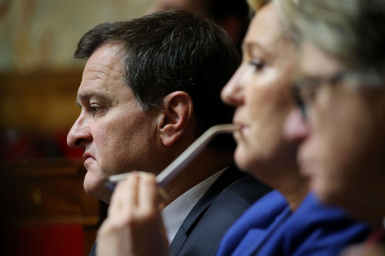"""Louis Aliot: séparé de Marine Le Pen, il restera """"toujours mariniste"""""""