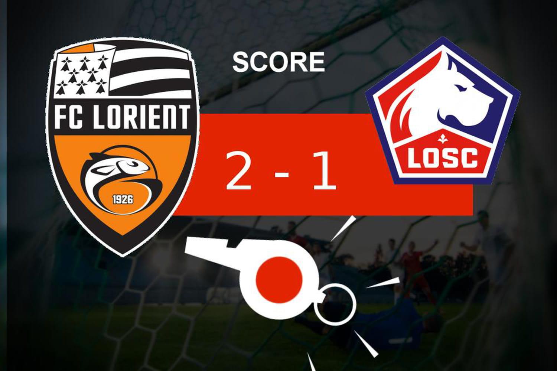 Lorient - Lille: le FC Lorient fait ce qu'il faut, revivez les temps forts du match
