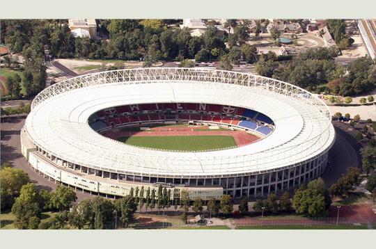 Le stade Ernst Happel de Vienne