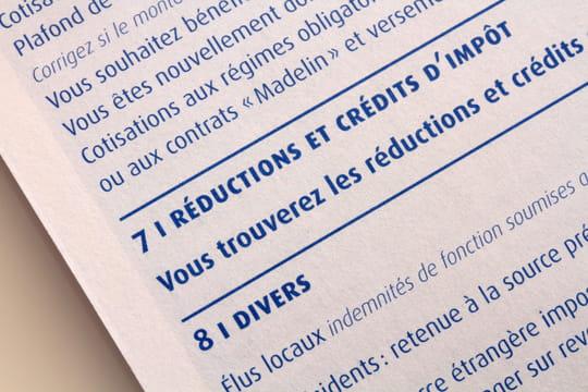 Déduction, réduction ou crédit d'impôt: quelles différences?