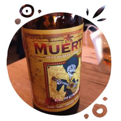 Boisson : O'Mexicain  - Bière artisanale mexicaine -   © O'Mexicain