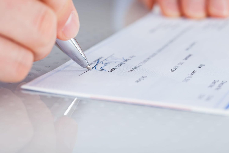 Le chèque: définition, validité... Et comment le remplir?