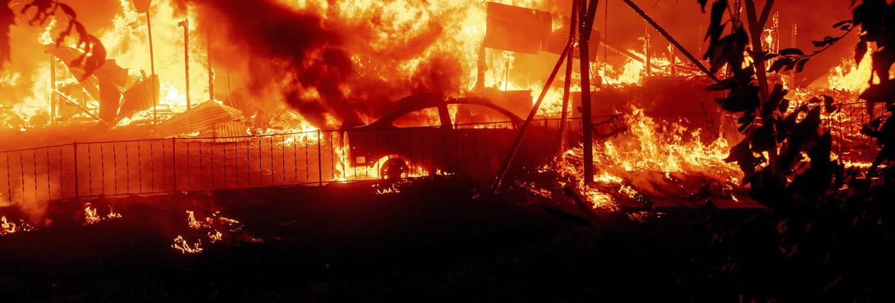 Incendies en Californie: des images d'apocalypse