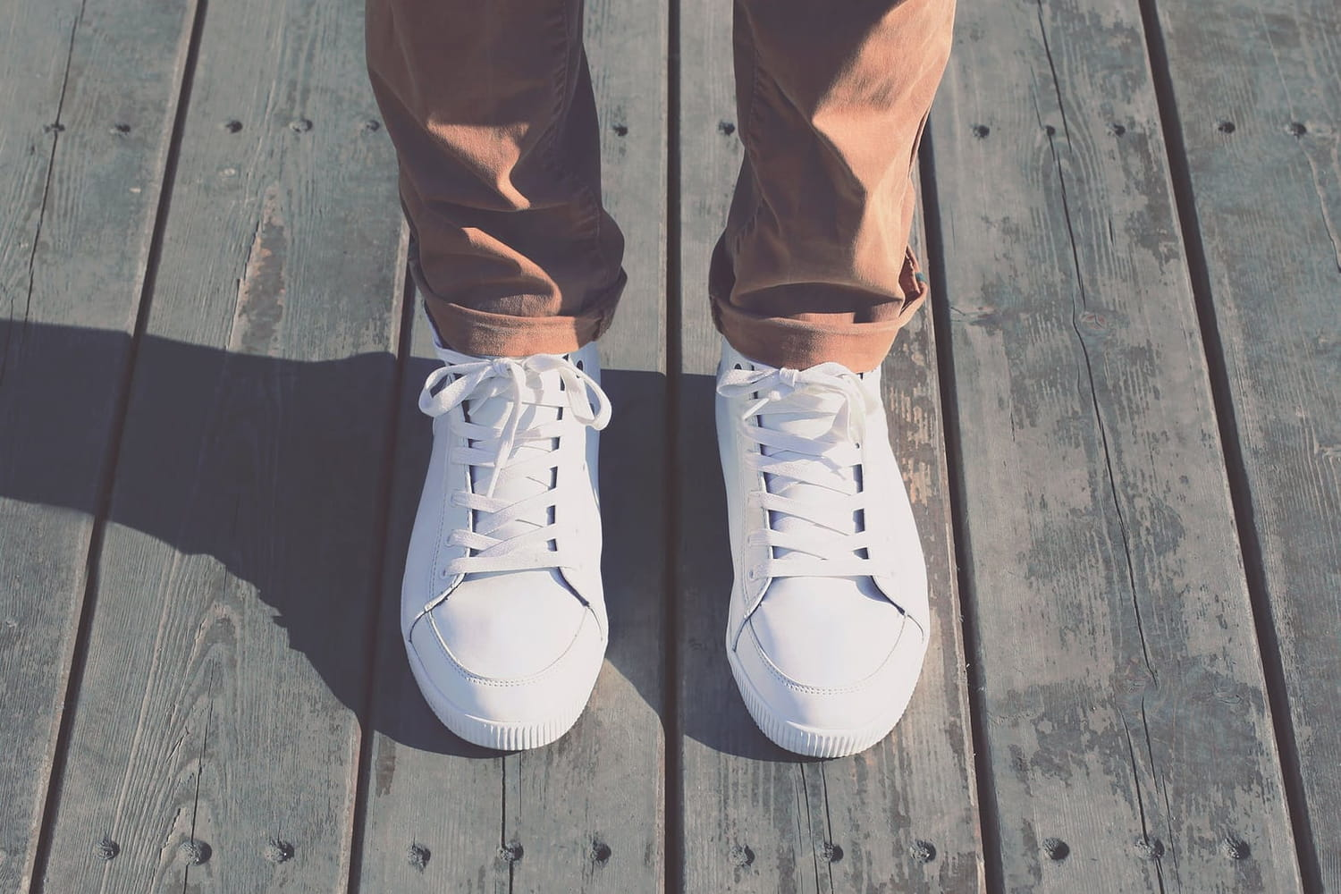 Comment garder ses baskets blanches