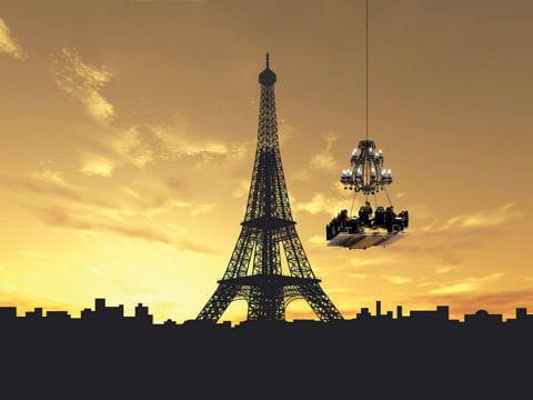 Dînez dans le ciel de Paris