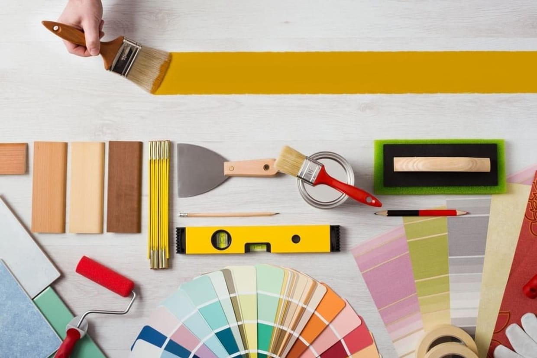 Peintures murales tendances peinture id es conseils et for Peinture murale tendance