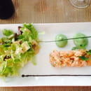 Entrée : Le Petit Bouchon  - Tartare de saumon -