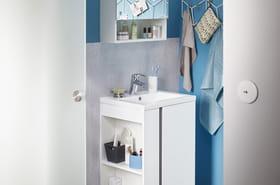 Des idées gain de place pour la salle de bains