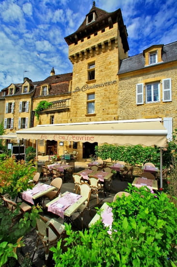 Restaurant la Couleuvrine  - Façade La Couleuvrine Sarlat -   © La Couleuvrine