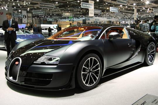 Salon Genève 2011 : Bugatti Veyron Supersport
