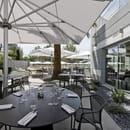 Restaurant : Le Servan  - La terrasse du restaurant Le Servan vous attend pour venir profiter du beau temps -   © Golden Tulip Sophia