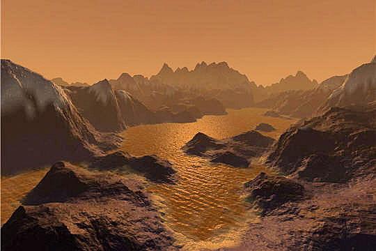 Des lacs en nombre sur Titan