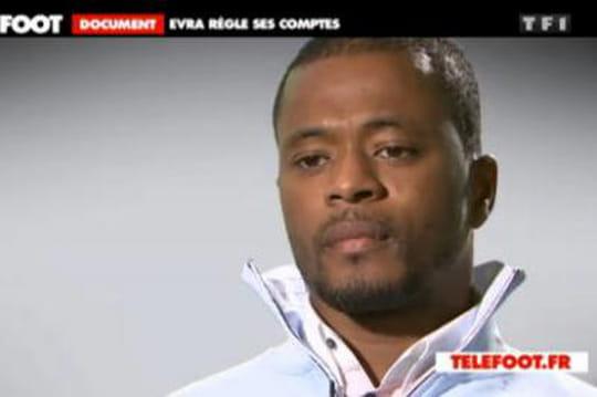 Les passages lesplus vulgaires del'interview de Patrice Evra ont été coupés