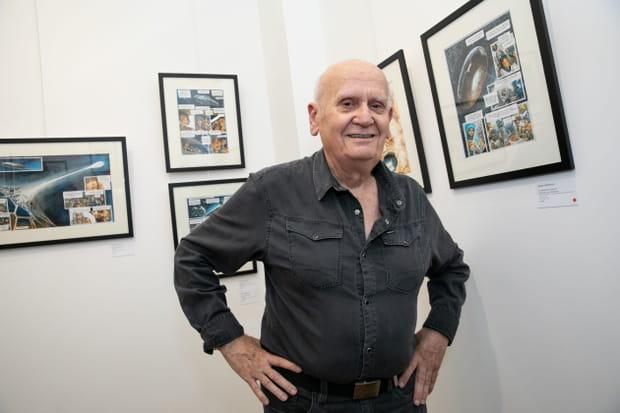 L'auteur de BD Juan Gimenez