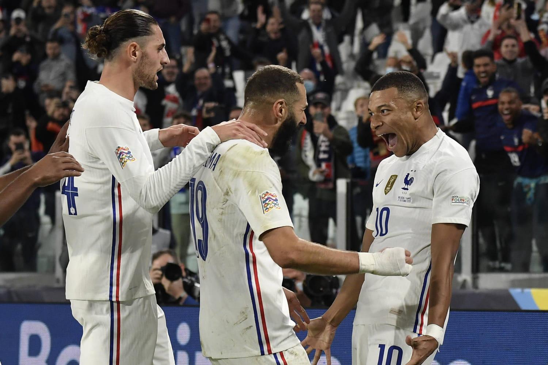 France - Belgique: notes, résumé… Mbappé et Benzema en détonateurs