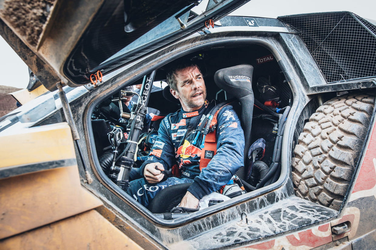 dakar 2017 loeb remporte la 10e tape incertitudes pour peterhansel au classement r sultats. Black Bedroom Furniture Sets. Home Design Ideas