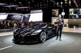 Bugatti La Voiture Noire: la plus chère du monde pour Cristiano Ronaldo?