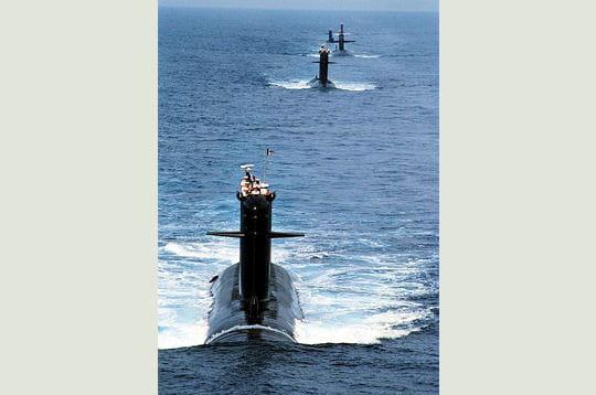 Sous-marin nucléaire d'attaque