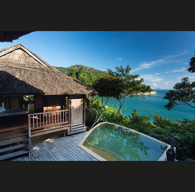 5* en pleine nature: le luxe au paradis