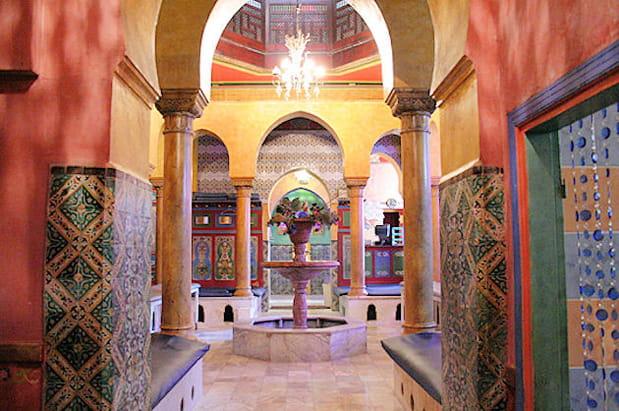 Le hammam de la Mosquée de Paris