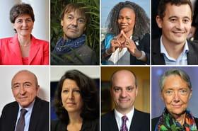 Les visages des ministres du gouvernement Edouard Philippe