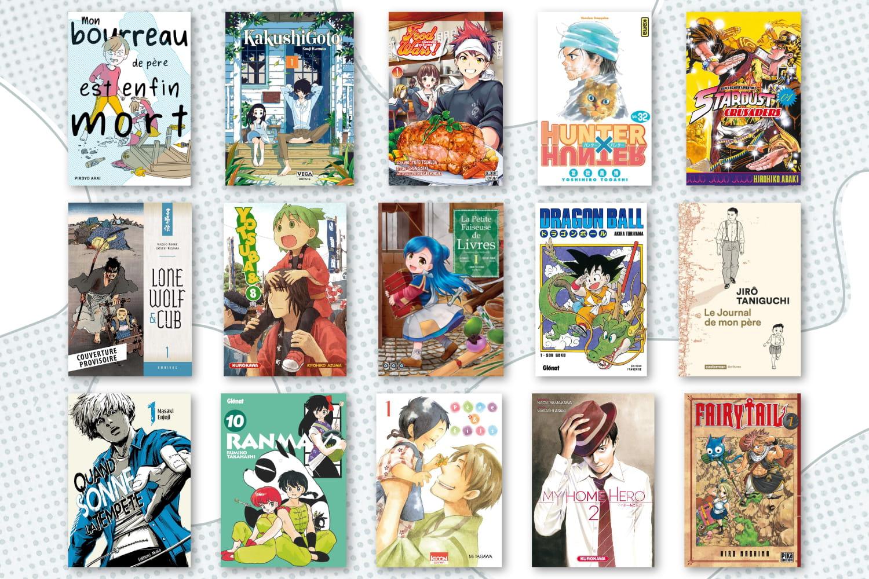 Manga: loufoques ou tyranniques, 15pères iconiques pour la fête des pères