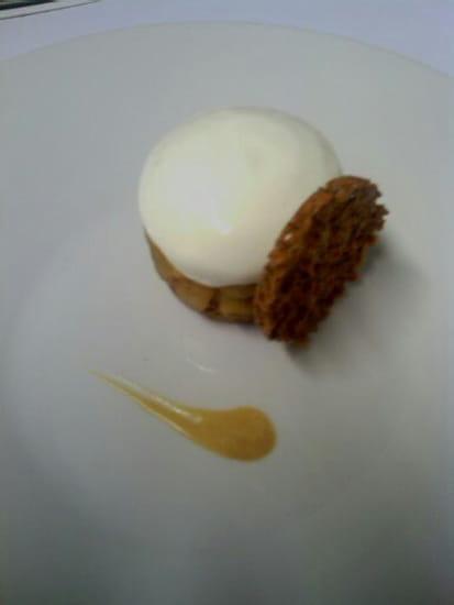"""L'Oh à la Bouche !  - Sablé breton et pomme sainte germaine """"comme une tatin"""" -   © L'Oh à la Bouche !"""