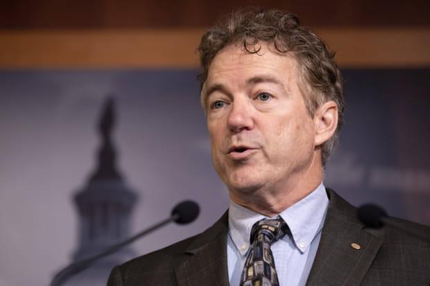 Le sénateur américain Rand Paul