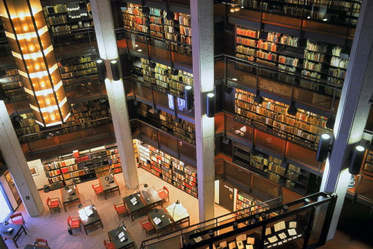 La bibliothèque Thomas Fisher à Toronto
