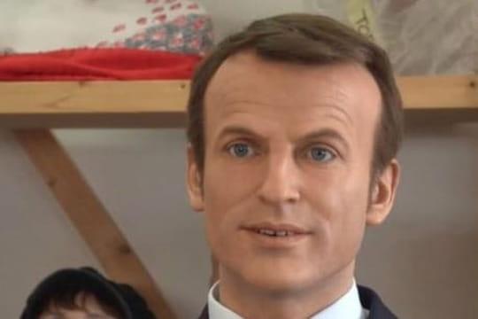 Musée Grévin: le double de cire d'Emmanuel Macron sera-t-il remplacé?