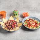 Plat : Tex A Way  - Chili con carne maison et salade végétarienne maison -   © #TEXAWAYOFLIFE