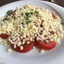 Entrée : Le Bouche à Oreilles  - Tomates mozzarella.... une catastrophe gustative -