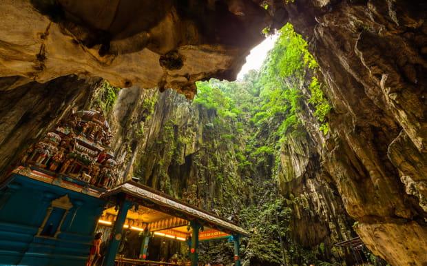 les grottes de batu pr u00e8s de kuala lumpur