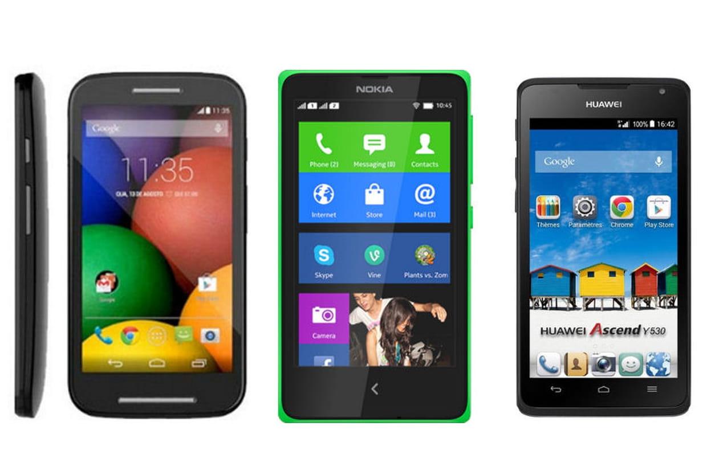 10 smartphones android moins de 100 euros. Black Bedroom Furniture Sets. Home Design Ideas