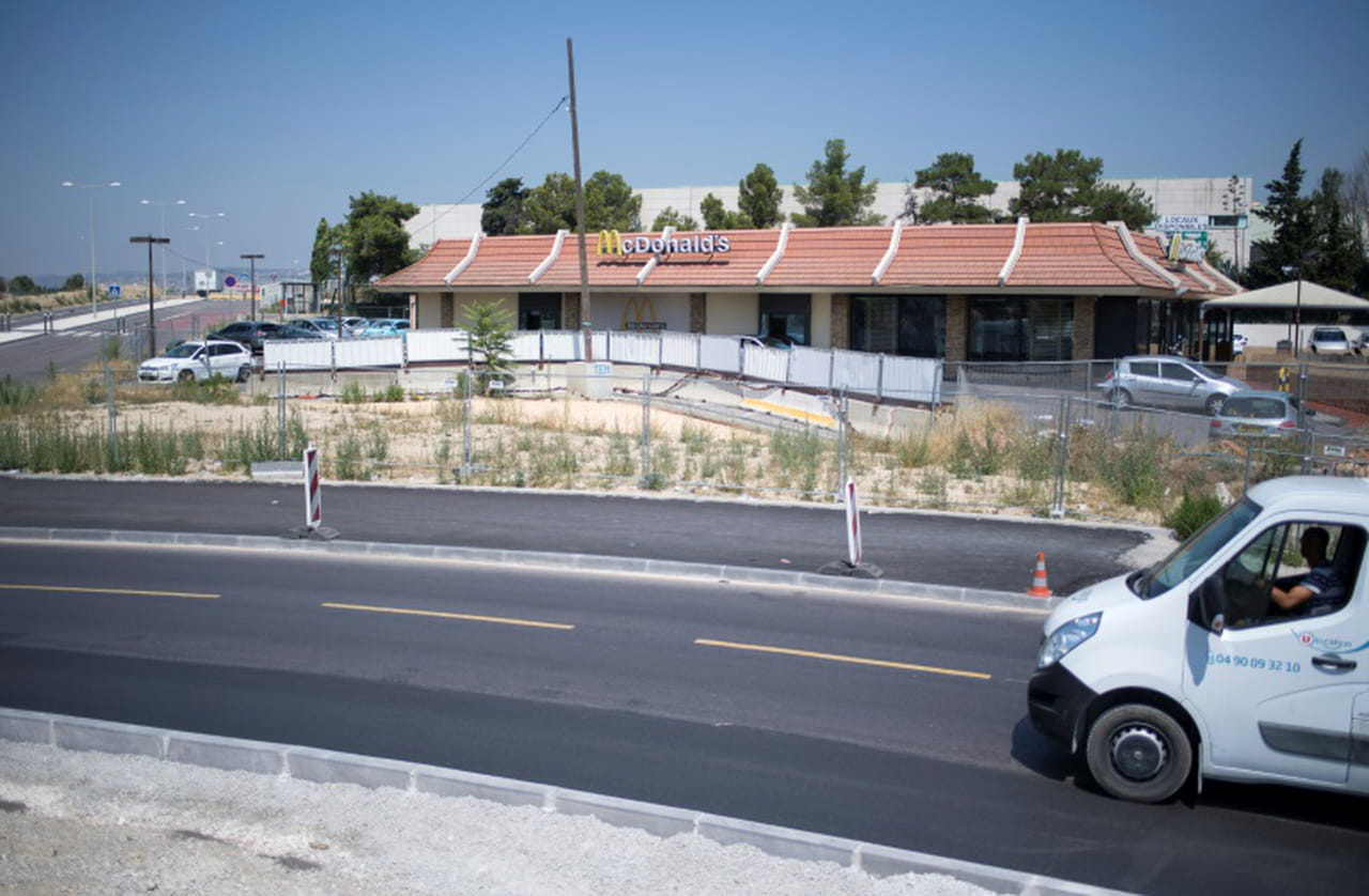 """Marseille: dans les quartiers Nord, 77salariés d'un """"McDo"""" en lutte pour leurs emplois"""