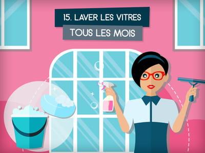 Laver les vitres for Nettoyer ses vitres sans traces