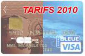 Cartes bancaires : les banques moins chères en 2010