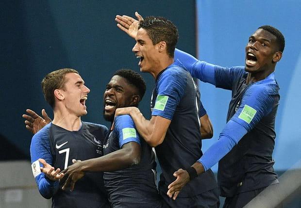 La joie des Bleus... et des supporters!