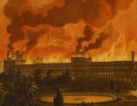 Le brasier : 1871, le Louvre sous le feu de la Commune