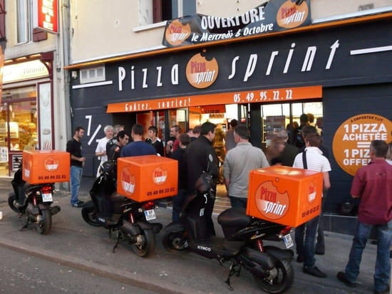 Pizza Sprint  - lieu de rencontre -   © deranlot