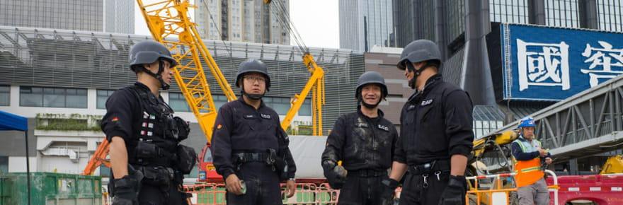 Hong Kong: une bombe de la Seconde guerre mondiale provoque des évacuations