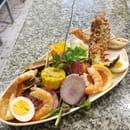 Plat : L'Ô à la Bouche  - Salade de homard -   © O A LABOUCHE