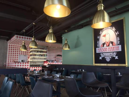 , Restaurant : La Maison Martin  - La Salle -   © Martin Fleury