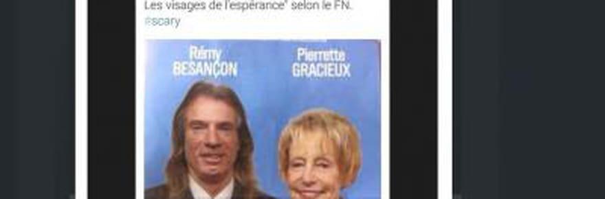Départementales 2015: unjournaliste semoque duphysique dedeux candidats FN, Marine LePen porte plainte