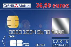 19e ex-aequo : Crédit mutuel Nord Europe avec une carte ...