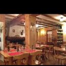 Restaurant : L'Oule Rouge  - Un décor de montagne avec une vrai cheminée qui fonctionne -