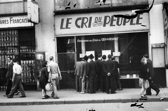 """Le """"Cri du peuple"""""""