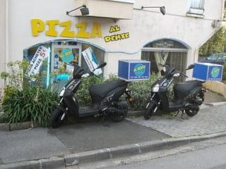 Al Dente  - scooters de livraison -